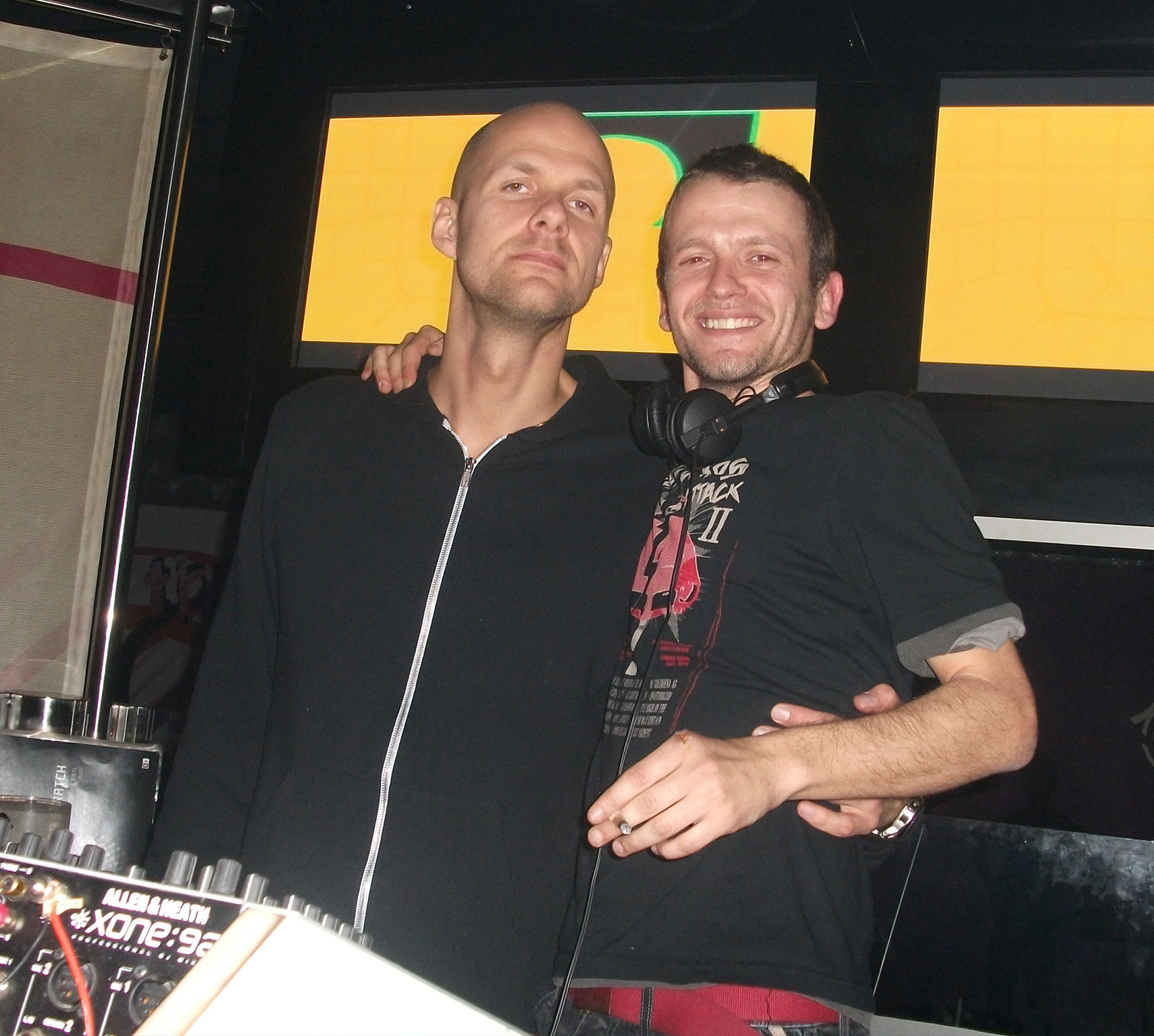 With Adam Beyer - 2009